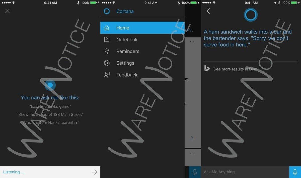 Cortana estaría siendo probado ya en iPhone