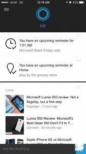 Cortana estaría siendo probado ya en iPhone en versión Beta cerrada
