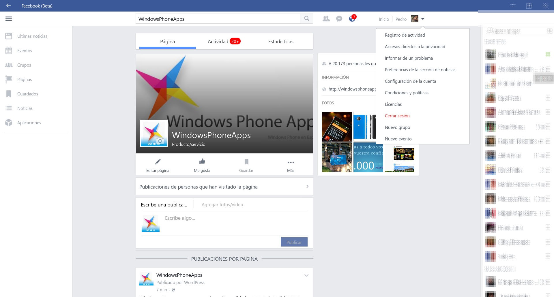facebook beta windows 10 4