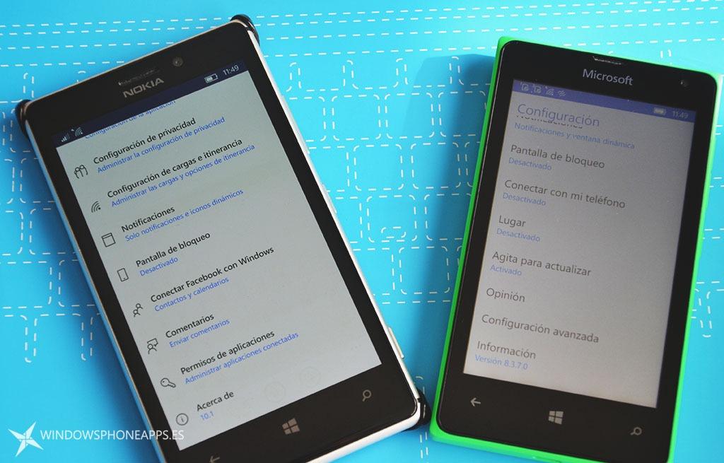 Facebook en Windows 10 Mobile