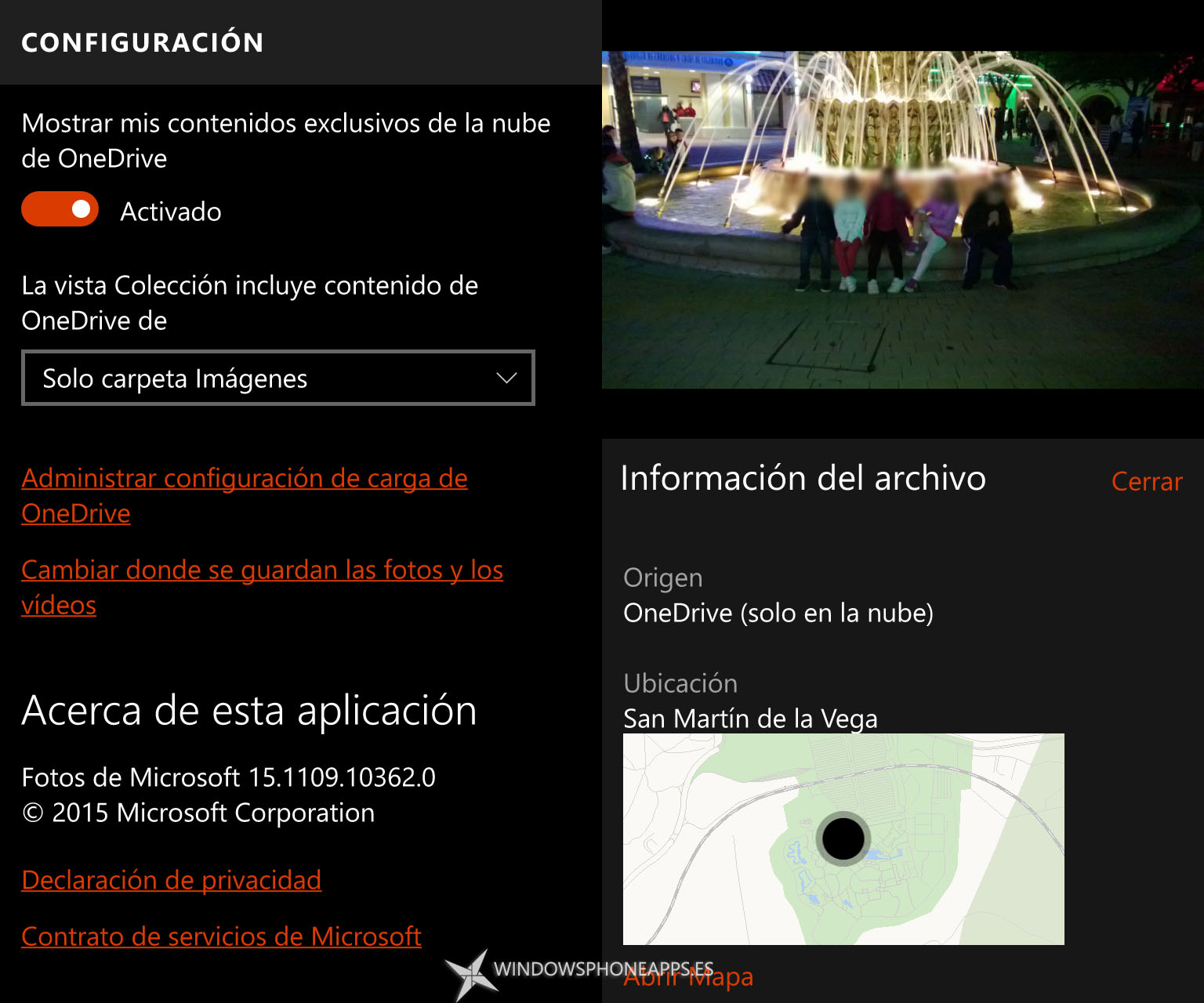 fotos windows 10