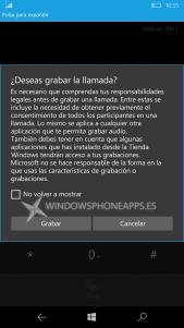 Confirmamos la grabación de llamadas de voz en España con los Lumia 950 y 950 XL