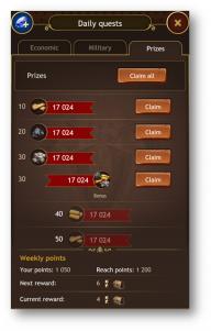 Imperia Online se actualiza con nuevo contenido y más logros