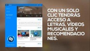 Shazam actualiza su aplicación para Windows