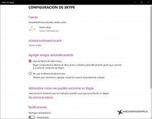 La aplicación de Mensajes para Windows 10 aumenta su integración con Skype