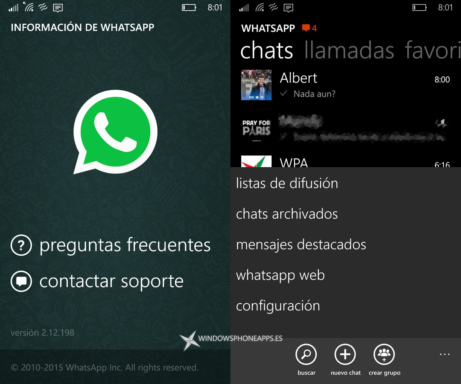 whatsapp beta windows 10 mobile
