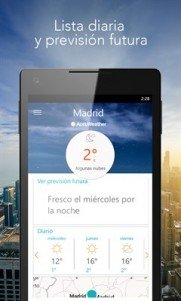 AccuWeather - Weather for Life en Windows 10 Mobile (2)