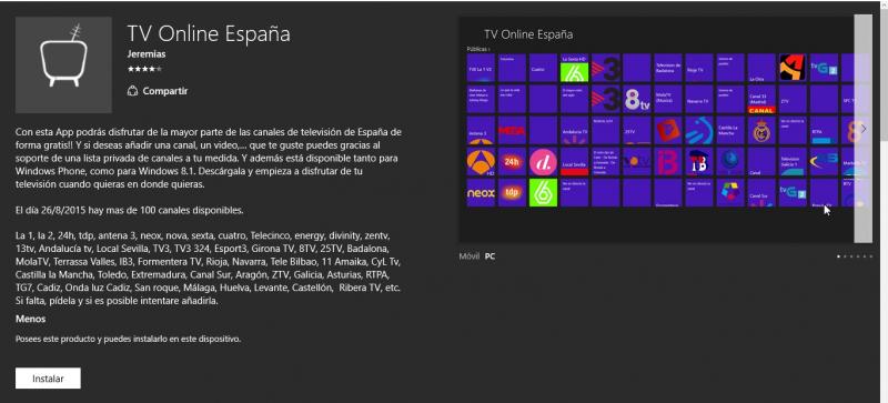 TV Online España