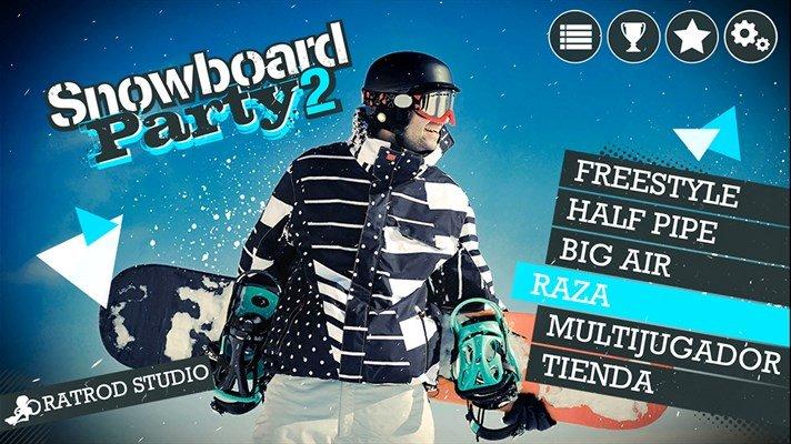 Snowboard Party 2 Portada
