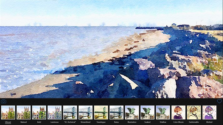 Convierte tus fotografías en arte con Waterlogue by Tinrocket para Windows 10