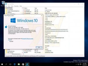 Filtradas capturas de varias compilaciones de Windows 10, entre ellas la Build 14251