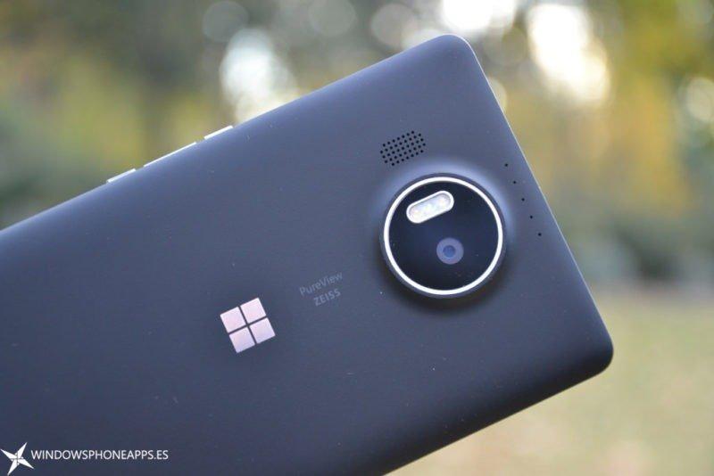camara lumia 950 XL