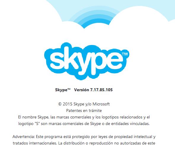 Skype escritorio
