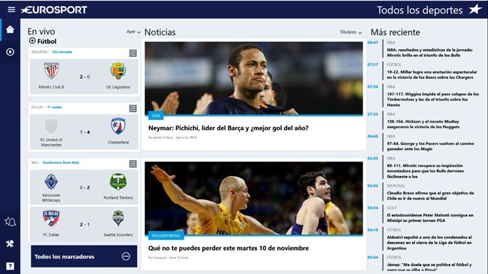 eurosport windows 10 pc