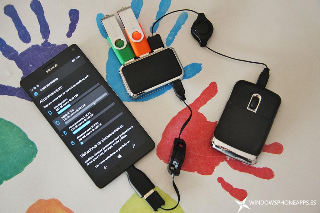 lumia 950 XL OTG