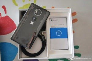 Microsoft Lumia 950 XL, desempaquetado y primeras impresiones