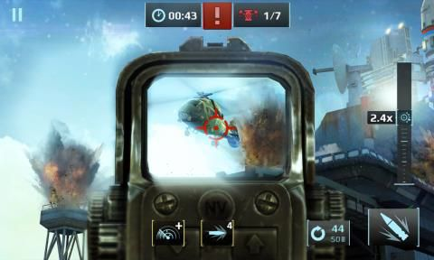 Sniper Fury el nuevo juego de Gameloft ya está disponible en la tienda  [Actualizado]
