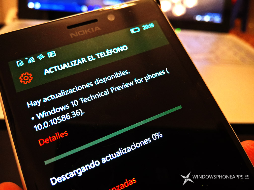 Windows 10 Mobile Build 10586.36