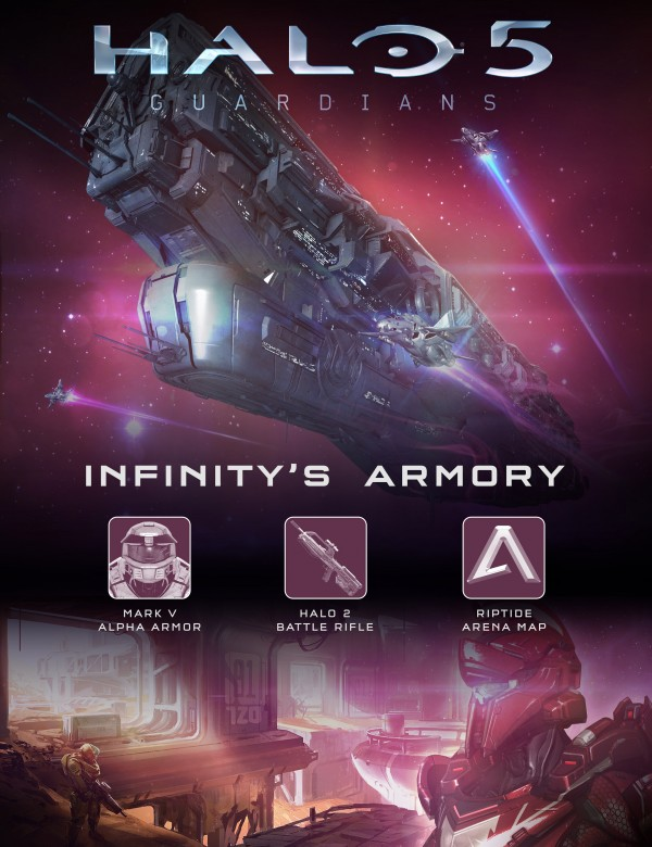 Halo 5 Guardians Infinity's Armory