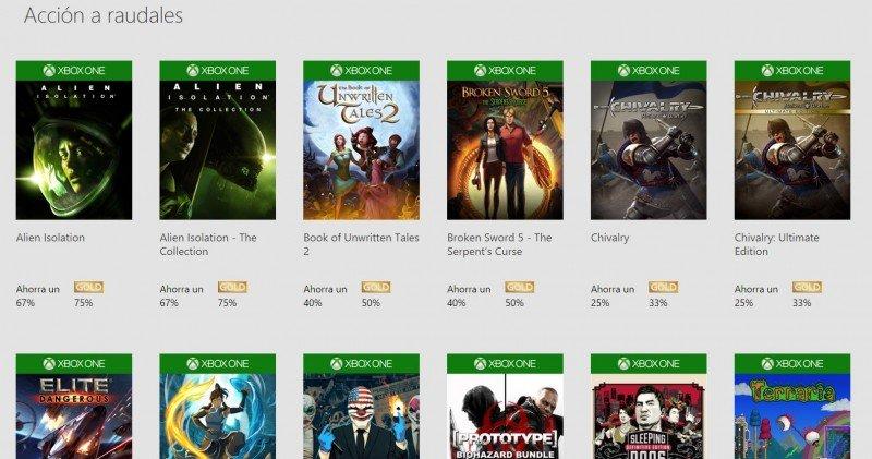 Ofertas Xbox Navidad 2