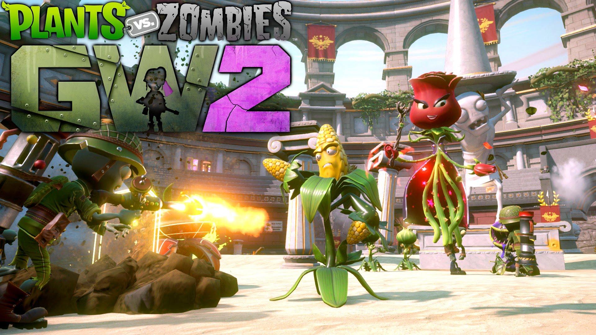 Plants Vs Zombies Garden Warfare 2 Se Acerca A Xbox One