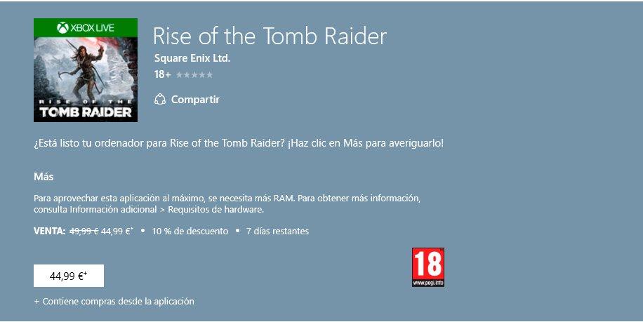 Rise-of-the-Tomb-Raider-nuevo-precio
