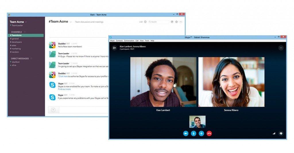 Skype-slack