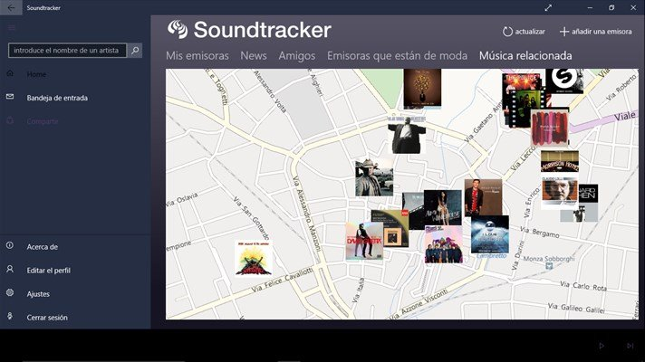 Soundtracker presenta su aplicación universal para Windows 10