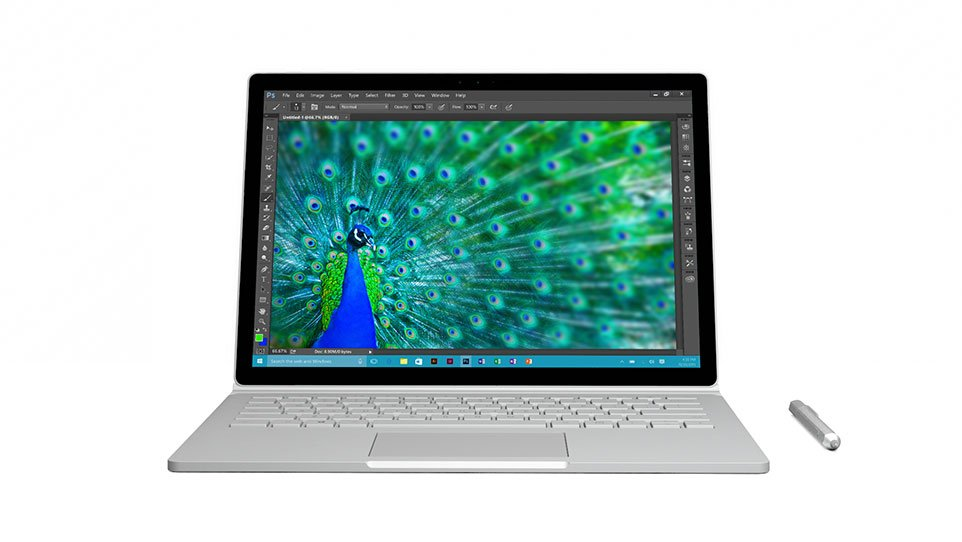 Surface Book frontal