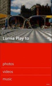 Lumia play to