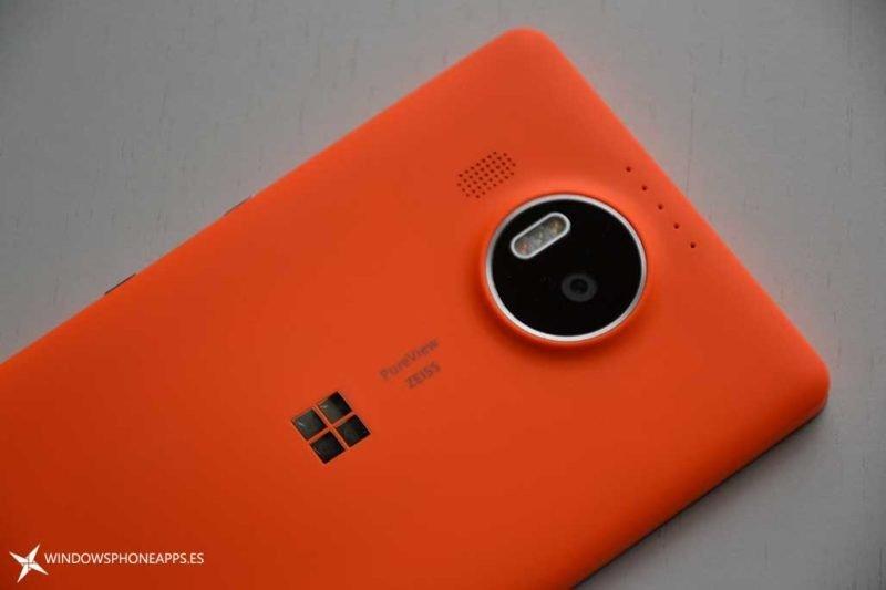 carcarsa naranja lumia 950 XL