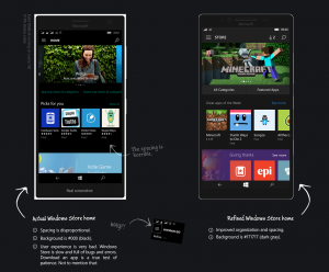 Te mostramos un atractivo y funcional concepto de Windows 10 Mobile