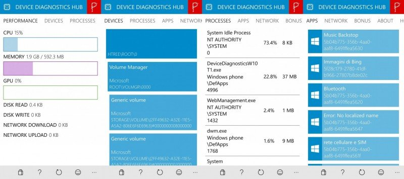 Device Diagnostics HUB