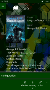 Tres aplicaciones para leer libros electrónicos en tu teléfono Windows