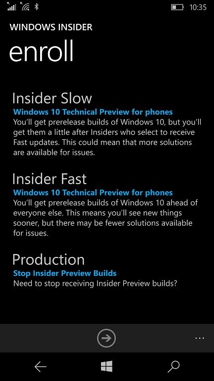 Microsoft pondrá el firmware a disposición de dispositivos miembros del programa Insider