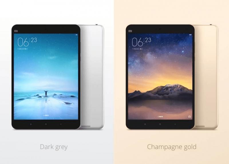 Xiaomi Mi Pad 2 con sus dos variantes de colores