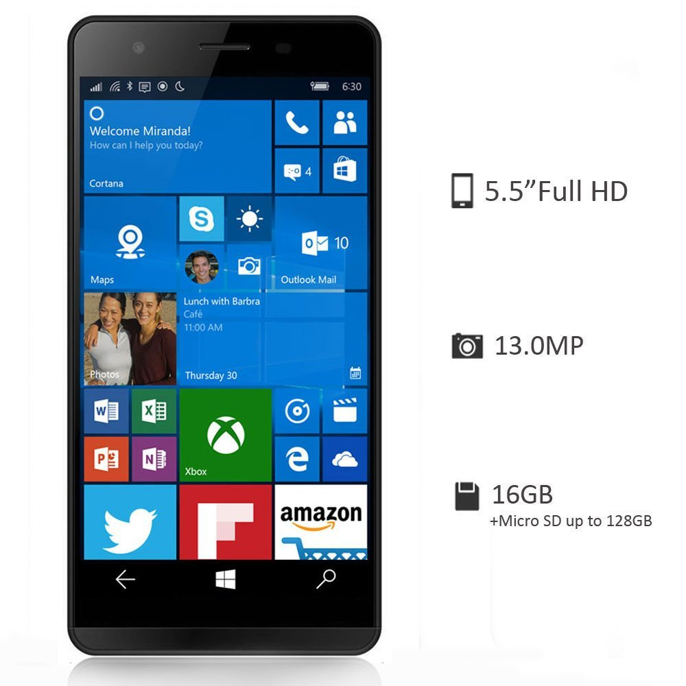 moly x Windows 10 espec