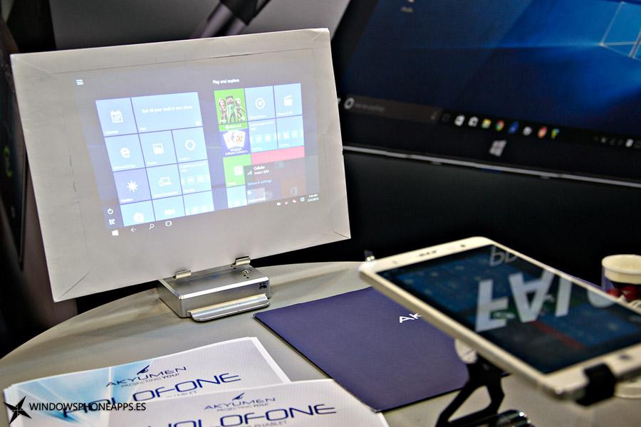 Akyunen-Holofone-proyectando-Windows-10-portada