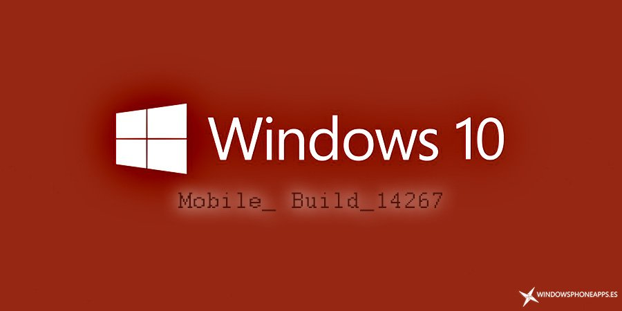 Diseño Build 14267 Windows 10 Mobile RedStone