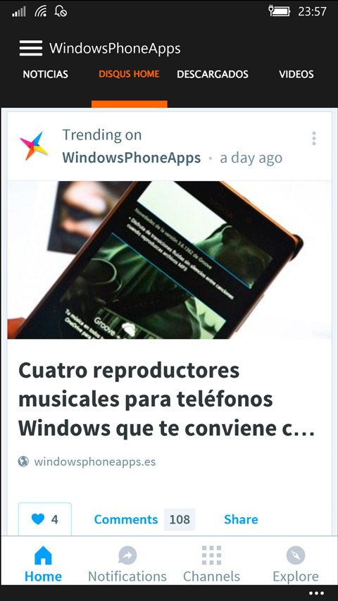 Disqus-Home-en-WindowsPhoneApps-WPA