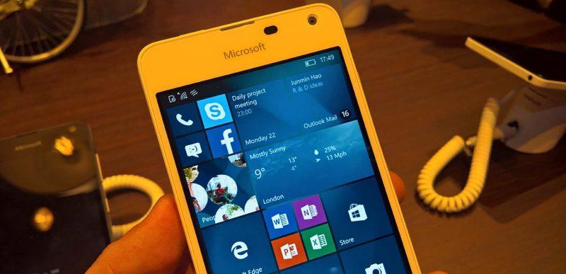 Lumia 550, 950 y 950 XL, nuevamente disponibles en las tiendas de Microsoft en Estados Unidos