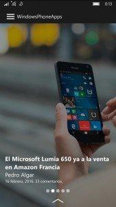 La aplicación de WindowsPhoneApps se actualiza y se renueva completamente