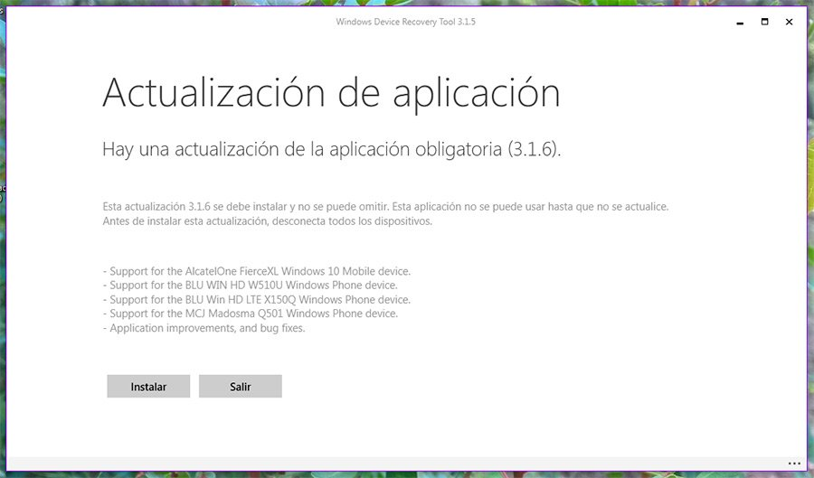 Windows-Device-Recovery-Tool-WDRT-novedades-version-3.1.6