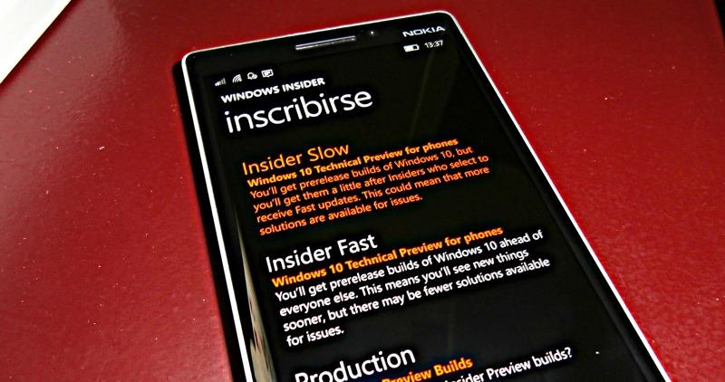 Windows-Insider-Anillo-lento-Slow-ring-Windows-10-Mobile