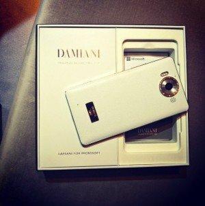 Damiani y Microsoft lanzan una carcasa Premium para el Lumia 950