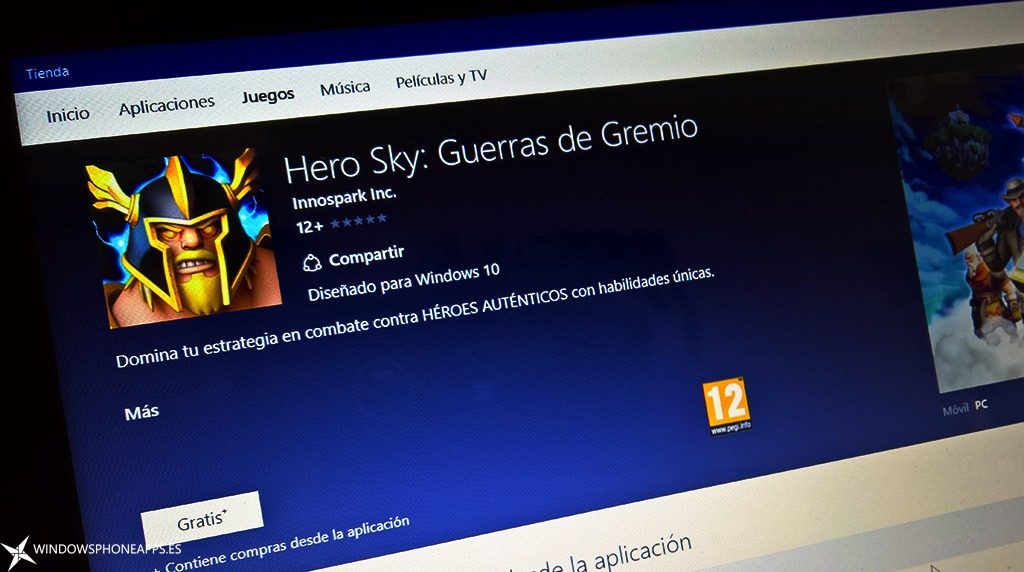 Hero Sky: Guerras de Gremio