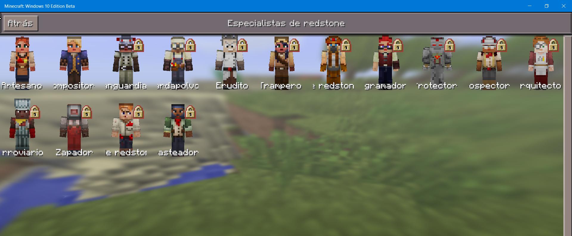 minecraft nuevos aspectos