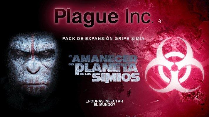 plague El Amanecer del Planeta de los Simios