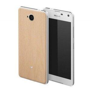 La madera, protagonista de las carcasas Mozo para el Lumia 650