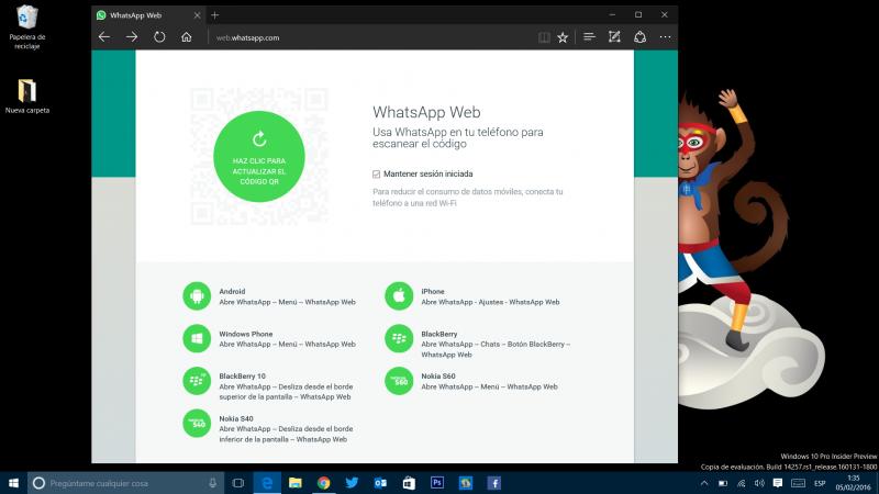 whatsapp web edge 1